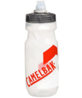 CamelBak Podium Trinkflasche 610ml Clear/Racing Red