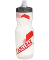 CamelBak Podium Trinkflasche 710ml Clear/Racing Red