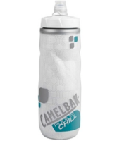 CamelBak Podium Chill Trinkflasche 610ml Clear/Steel Blue